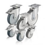 比克力Blickle 8系列 采用喷塑聚氨酯胎面的单轮和脚轮